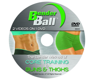Bender Ball Ball DVD Core training and Buns and Thighs